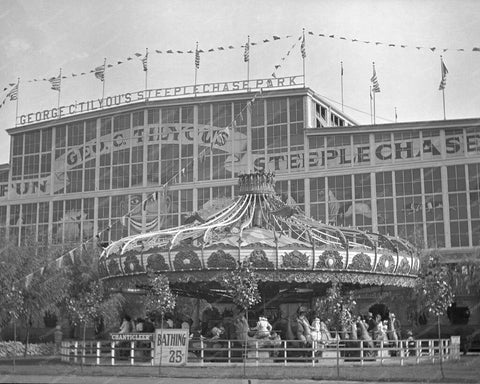 Coney Island George C Tilyou's Steeplechase Park 8x10 Reprint Of Old  Photo - Photoseeum