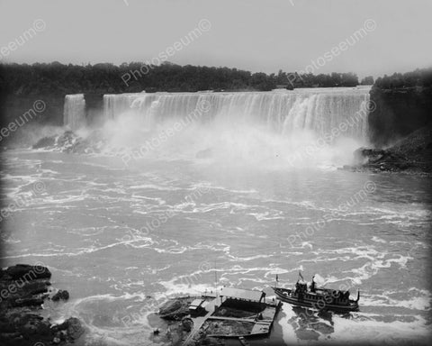 Maid Of The Mist Niagara Falls Vintage 8x10 Reprint Of Old Photo 1