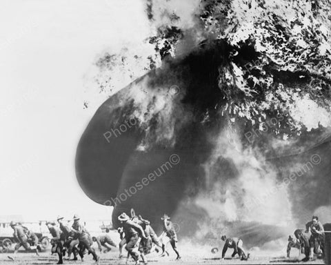 Air Balloon Accident Fort Sill 1920 Vintage 8x10 Reprint Of Old Photo