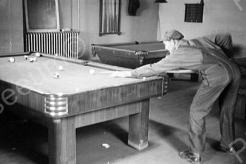Billiard Parlor Iowa 1940s 4x6 Reprint Of Old Photo 4 - Photoseeum
