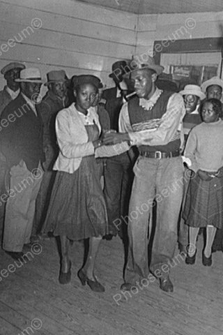 Black Couple Dance At Juke Joint! 4x6 Reprint Of Old Photo