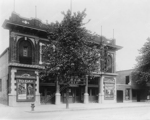 Apollo Theatre Vintage 8x10 Reprint Of Old Photo - Photoseeum