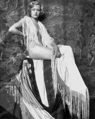 Vivian Porter Showgirl Vintage 8x10 Reprint Of Old Photo