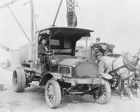 Mack Truck Antique Vintage 1910s  Reprint  8x10 Old Photo