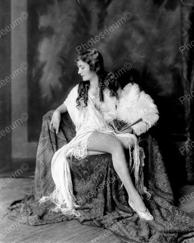 Alice Wilkies Show Girl Vintage 8x10 Reprint Of Old Photo 1
