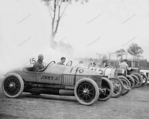 Auto Races Benning Md Jimmy Jr 1916 Vintage 8x10 Reprint Of Old Photo