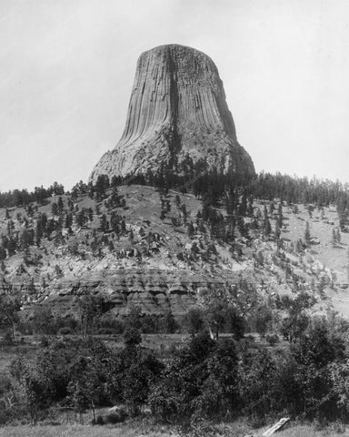 Devils Tower In Wyoming 1890s 8x10 Reprint Of Photo
