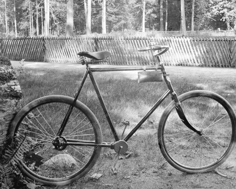 Chainless Bicycle 1903 Vintage 8x10 Reprint Of Old Photo - Photoseeum