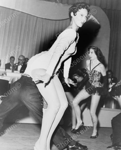 Competitive Dancing Vintage 8x10 Reprint Of Old Photo