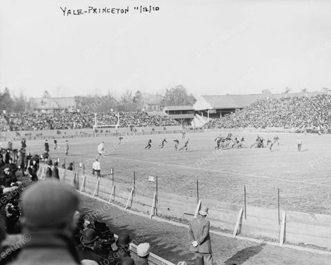 Yale And Princeton Football Game 1910 Vintage 8x10 Reprint Of Old Photo 2 - Photoseeum