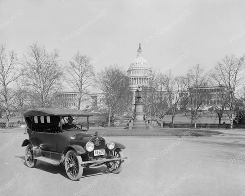 Brockway Car Capitol Building Vintage 8x10 Reprint Of Old Photo
