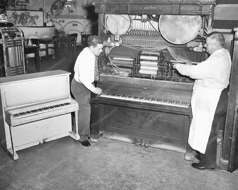 Wurlitzer Ole Throop Street Vintage 8x10 Reprint Of Old Photo 2