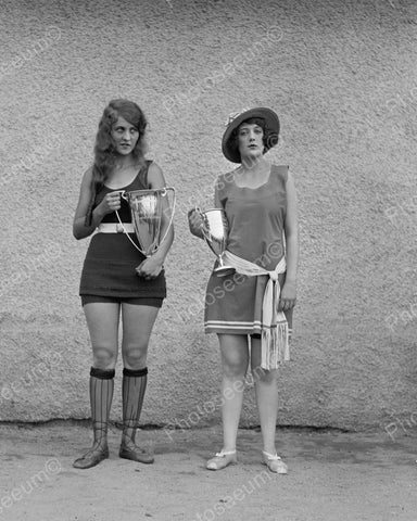 Beauty Contest Winners 1922 Vintage 8x10 Reprint Of Old Photo - Photoseeum