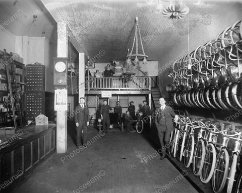 Bicycle Store 1920 Vintage 8x10 Reprint Of Old Photo 2