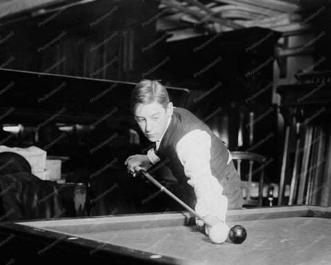 Billiards The Wizard Jake Schaefer 1800s 8x10 Reprint Of Old Photo