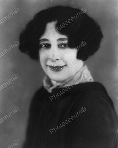 Beatrice Houdini Smiling Portrait 1900s 8x10 Reprint Of Old Photo