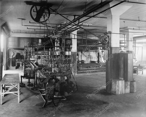 Whistle Bottling Works Inside Factory 1920's Vintage 8x10 Reprint Of Old Photo