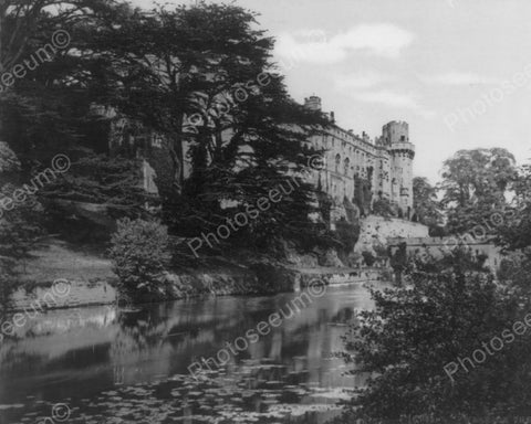 Castle Warwick England 8x10 Reprint Of Old Photo - Photoseeum