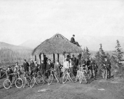 Bicycle Bike Club 1895 Vintage 8x10 Reprint Of Old Photo - Photoseeum
