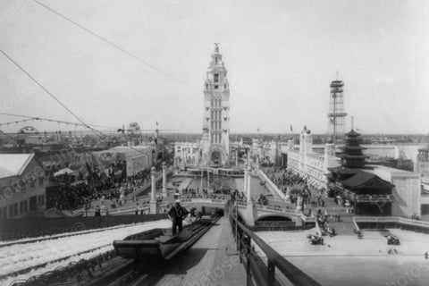 Coney Island Dreamland Chutes 1900s 4x6 Reprint Of Old Photo