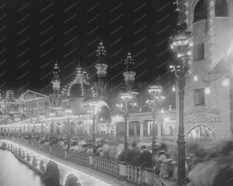 Coney Island Luna Park Infant Incubator 8x10 Reprint Of Old Photo
