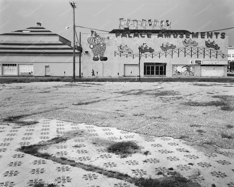 Asbury Park NJ Deserted Fun House 8x10 Reprint Of Old Photo