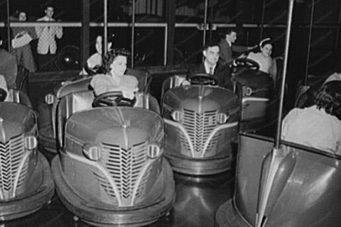Connecticut State Fair Bumper Car 1940s 4x6 Reprint Of Old Photo 1