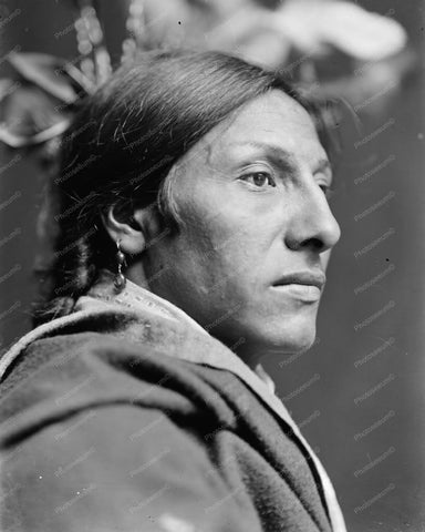 Amos Two Bulls A Sioux Indian 8x10 Reprint Of Old Photo - Photoseeum
