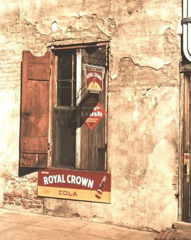 Cafe | Soda Signs | Royal Crown | Crush |8x10 Reprint Of Old Photo - Photoseeum