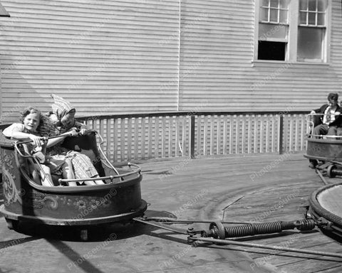 Whip Amusement Ride 1938 Vintage 8x10 Reprint Of Old Photo