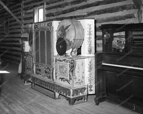 Music Machine CoinOp Vintage 8x10 Reprint Of Old Photo