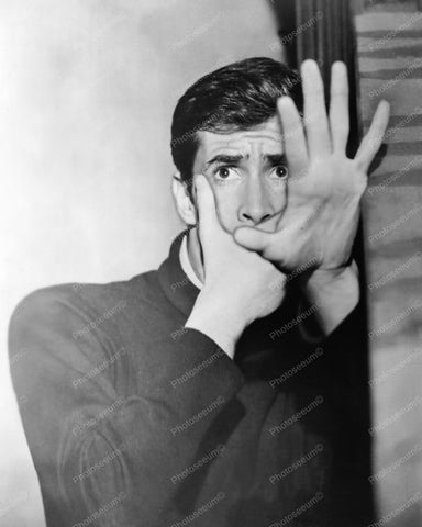 Anthony Perkins Psycho 1960s 8x10 Reprint Of Old Photo - Photoseeum
