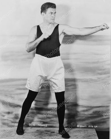 Boxer Gene Tunney 1926 Vintage 8x10 Reprint Of Old Photo