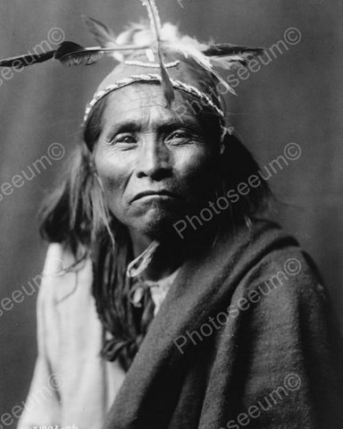Apache Native Indian Portrait 1906 8x10 Reprint Of Old Photo