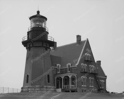Abandoned Lighthouse Vintage 8x10 Reprint Of Old Photo 1 - Photoseeum