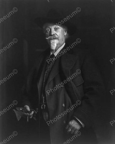 William F Cody Buffalo Bill 1910s 8x10 Reprint Of Old Photo