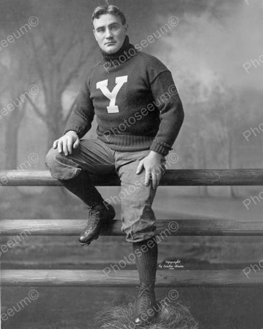 Captain James Hogan Yale Football 1905 Vintage 8x10 Reprint Of Old Photo - Photoseeum