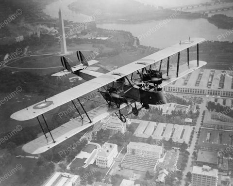 Airplane Aerial Photography July 1919 Vintage 8x10 Reprint Of Old Photo - Photoseeum