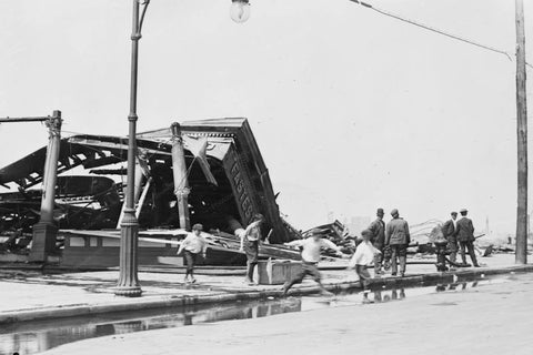 Coney Island Fire at  Luna Park 1911 4x6 Reprint Of Old Photo