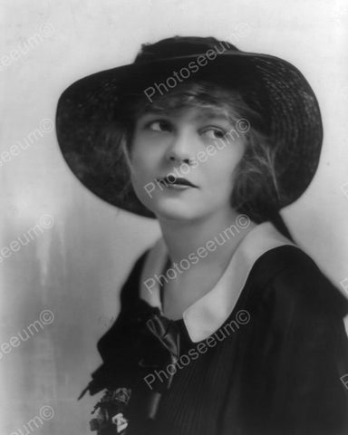 Blanche Sweet Hat Portrait 8x10 Reprint Of Old Photo
