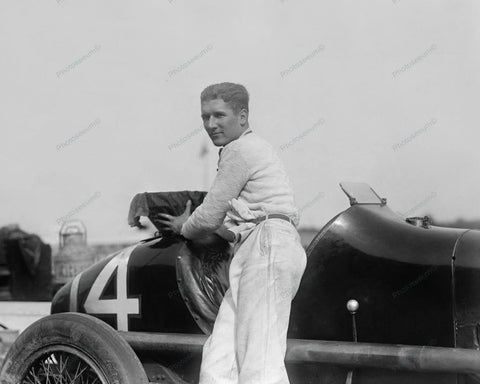 Bob McDonogh 250 Mile Auto Race 1925 Vintage 8x10 Reprint Of Old Photo