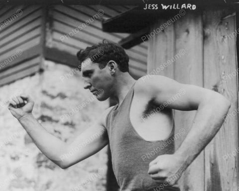 Boxer Jess Willard 1912 Vintage 8x10 Reprint Of Old Photo