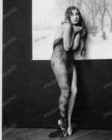 Albertina Vitak Show Girl Vintage 8x10 Reprint Of Old Photo 2