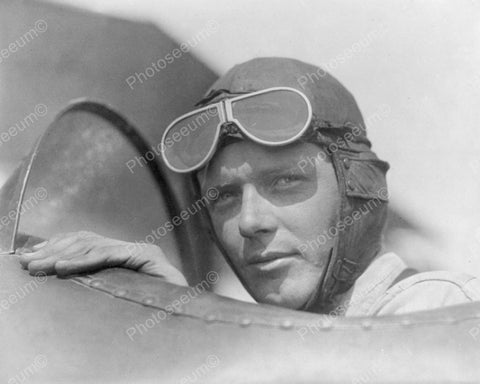 Charles Lindbergh Vintage 8x10 Reprint Of Old Photo - Photoseeum