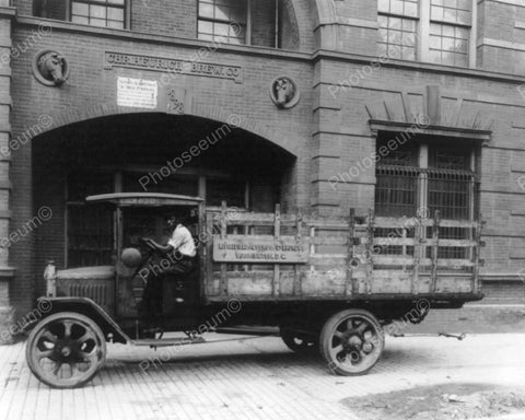 Chr. Heurich Brewing Co Truck 8x10 Reprint Of Old Photo - Photoseeum