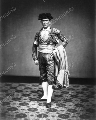 Distinguished Matador Portrait 1900s 8x10 Reprint Of Old Photo