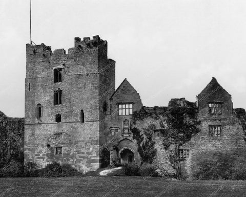 Castle II Ludlow England 1890s Old 8x10 Reprint Of Photo