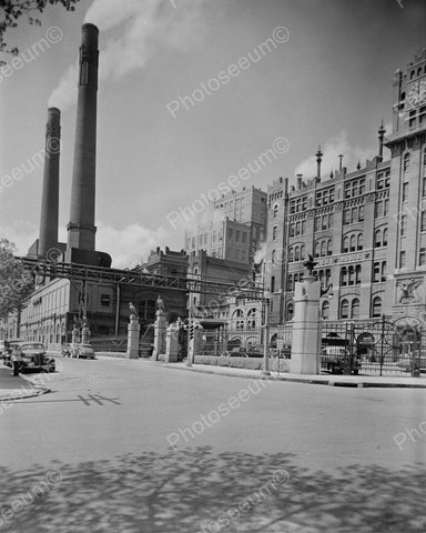 Anheuser Busch Brewery Saint Louis Factory Vintage 8x10 Reprint Of Old Photo 1 - Photoseeum