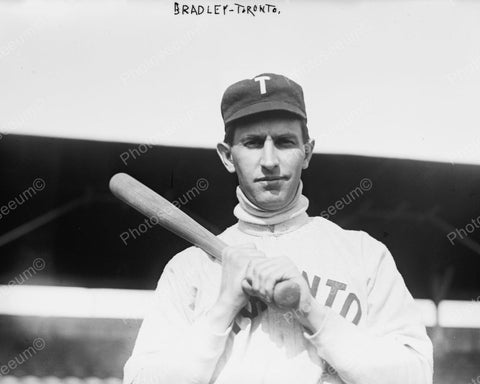 William J. Bradley Toronto Baseball 1911 Vintage 8x10 Reprint Of Old Photo