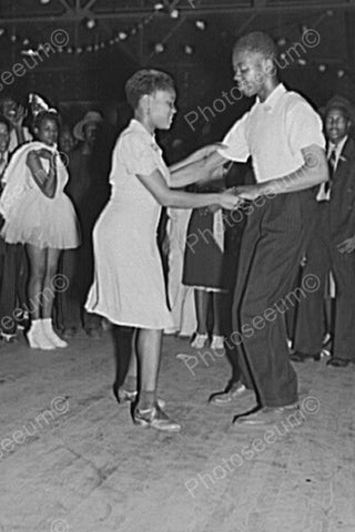 Young Black Couple Dance At Juke Joint 4x6 Reprint Of Old Photo